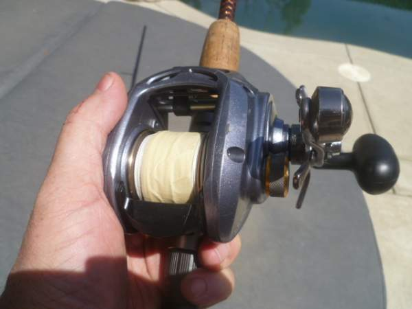 447dd53a027 Some photos with Abu Garcia Revo NaCl and Okuma Komodo 364 for size  comparisons: