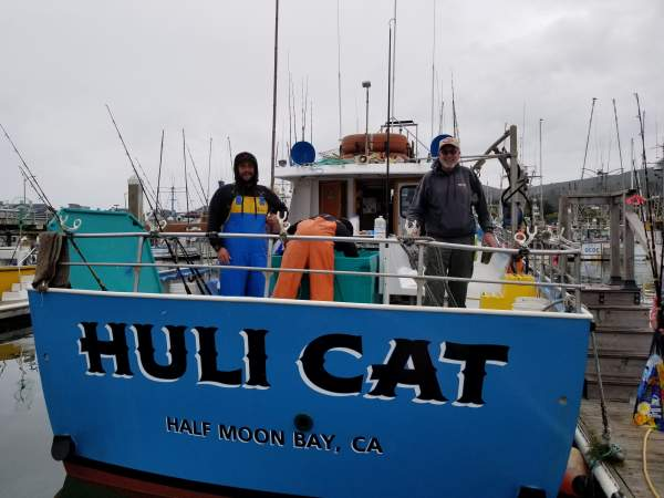rockfish opener on the hulicat, half moon bay, california, 4/1/2019